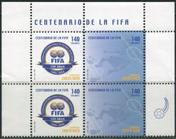 Costa Rica 2004. Michel #1607/08 MNH/Luxe. 100 Years International Football Federation (FIFA) (Ts22) - Costa Rica
