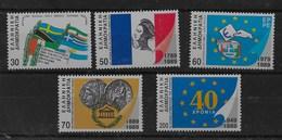 Serie De Grecia Nº Yvert 1707/11 ** - Grecia