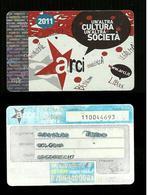 Tessera & Tessere - Tessera Arci 2011 - Altre Collezioni