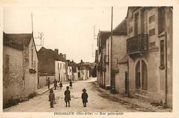 Dpts Div.-ref-AF964- Côte D Or - Prémeaux - Rue Principale - Carte Bon Etat - - France