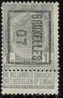 Brussel  Typo Nr. 3B - Precancels
