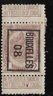 Brussel  1908 Typo Nr. 7B - Precancels