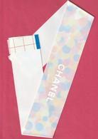 CHANEL  Grande Banderole Chance ST VALENTIN 2019 - Perfume Cards