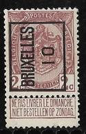 Brussel  1910 Typo Nr. 15A - Precancels