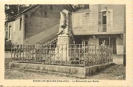 Dpts Div.-ref-AF962- Côte D Or - Bouze Les Beaune - Monument Aux Morts - Monuments Aux Morts Guerre 1914-18 - - France