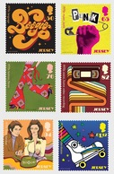 Jersey 2019 - Popular Culture - The 1970s Stamp Set Mnh - Jersey