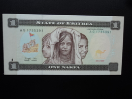 ERYTHRÉE : 1 NAFKA   24.5.1997   P 1    NEUF - Eritrea