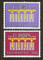 San Marino Saint-Marin 1984 Yvertn° 2246-2248 *** MNH  Cote 5,00 Euro Cept Europa - Europa-CEPT
