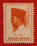 1 + 1 Rupia President Sukarno CONEFO (Mi 473 YT - ) 1965 Indonesie / Indonesien / Indonesia POSTFRIS / MNH ** - Indonesien