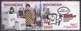 Indonesia - Indonesie New Issue 31-01-2019 (Serie) - Indonésie