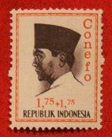 1.75 + 1.75 Rupia President Sukarno CONEFO (Mi 475 YT - ) 1965 Indonesie / Indonesien / Indonesia POSTFRIS / MNH ** - Indonesien