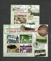 GHANA  2005   Soccer Football  75 Years Of First World Cup Team Of France Sheetlet+SS - Fußball-Weltmeisterschaft