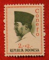 2 + 2 Rupia President Sukarno CONEFO (Mi 476 YT - ) 1965 Indonesie / Indonesien / Indonesia POSTFRIS / MNH ** - Indonesien