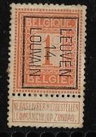 Leuven 1914  Typo Nr. 47B Papier Rest - Vorfrankiert