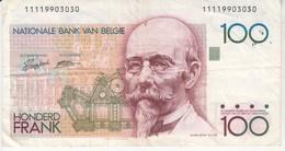 3809   BELGIE 100 FRANK - [ 2] 1831-... : Regno Del Belgio