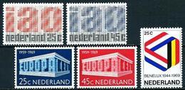 Holanda Nº 886/7-893/4-895 En Nuevo - Periodo 1949 – 1980 (Juliana)