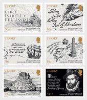 Jersey 2019 - Sir Walter Raleigh, Governor Of Jersey 1600-1603 Stamp Set Mnh - Jersey
