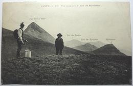 PANORAMA PRIS DU COL DE ROMBIÈRE - CANTAL - Frankrijk