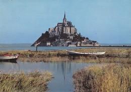 50 Le Mont Saint Michel En Grande Marée (2 Scans) - Le Mont Saint Michel