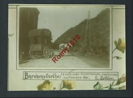 Barvaux- S/ Ourthe. (Luxembourg)  Malle Poste D'Ocquier. Lardo-Germain. Agrandissement D'une Petite Photo De Famille. - Luoghi