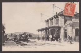 CPA PAVILLY-Gare Pvilly-Station-Animée- - Pavilly