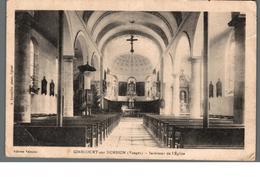 Cpa 88 Girecourt Sur Durbion Vosges Intérieur De L'Eglise Déstockage à Saisir - Sonstige Gemeinden