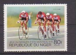 NIGER  N°  367   * *    Jo 1976  Velo - Radsport