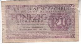 3810   50 REICHMARK   FALSCH - 50 Reichsmark