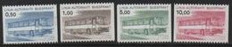 Finnland 1981 Bus Paketmarken MiNr.: AP14-17 Postrisch; Finland MNH - Paketmarken