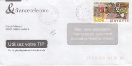 LETTRE. COVER.  FRENCH MAYOTTE. CHIRONGUI - Unclassified
