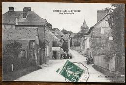 CP TOURVILLE LA RIVIÈRE Rue Principale - France