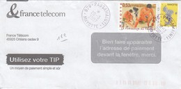 LETTRE. COVER.  FRENCH MAYOTTE. LETTRE. PASSAMAINTI - Unclassified