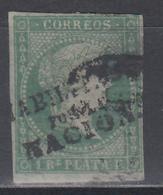 """1869 - 1874 Edifil Nº 20D, """" HABILITADOS POR LA NACION """" - Filipinas"""
