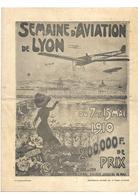 69 Lyon Semaine D'aviation De Lyon Du 7 Au 17 Mai 1910 - Autres
