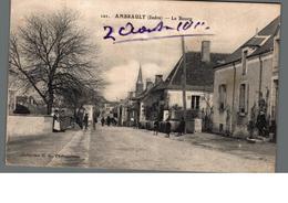 Cpa 36 Ambrault Indre Le Bourg  Déstockage à Saisir - France