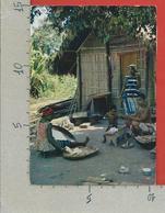 CARTOLINA VG ALTO VOLTA - BURKINA FASO - La Vie Au Village - 10 X 15 - ANN. 1962 - Burkina Faso