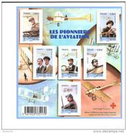 Bloc N° 4504  Les Pionniers De L'aviation - Blocs & Feuillets