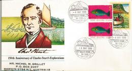European Exploration Of Australia By Explorer Charles Sturt, Letter AUSTRALIA - Explorateurs