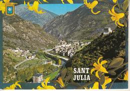 VALLS D'ANDORRA   - SANT JULIA Avec Timbre - Andorre