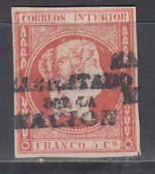 """1869 - 1874 Edifil Nº 20H (*), """" HABILITADOS POR LA NACION """" - Filipinas"""