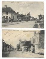NOGENT Sur AUBE 1905 POSTE 1917 TABAC Près Ramerupt Arcis Piney Brienne Le Château Vendeuvre Sur Barse Troyes - Autres Communes