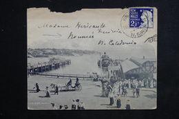 AUSTRALIE / NEW SOUTH WALES - Enveloppe Illustrée Pour Nouméa En 1908 - L 23413 - Briefe U. Dokumente