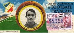 France - 317 - Club Des Internationaux Du Football Français  Louis Gariet - 38 ème Tranche 1968 - Loterijbiljetten
