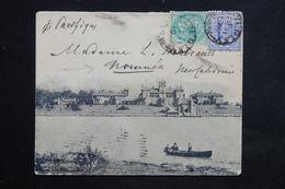 AUSTRALIE / NEW SOUTH WALES - Enveloppe Illustrée Touristique Pour Nouméa En 1907 - L 23414 - 1850-1906 New South Wales