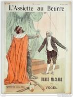 L'ASSIETTE AU BEURRE-1902- 64-DANSE MACABRE....VOGEL - Livres, BD, Revues