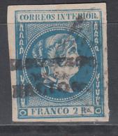"""1869 - 1874 Edifil Nº 20J  """" HABILITADOS POR LA NACION """" - Filipinas"""