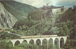 L'alpazur La Rame S N C F Arrive A Sisteron - France