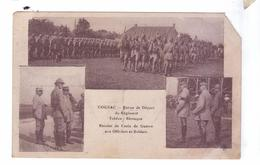 GUERRE 14 18 Cognac Depart Regiment Tcheco Slovaque Remise Croix De Guerre - Régiments