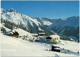 KLOSTERS-MADRISA Bergstation Saaser-Alp Gondelbahn - GR Grisons