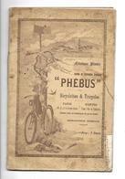 75 Paris Carnet Publicitaire De 30 Pages Phébus De 1890 - Publicité